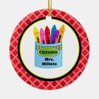 Ornamento colorido del navidad del profesor de los ornamentos para reyes magos