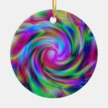 Ornamento colorido del remolino ornamento para reyes magos
