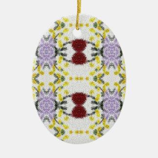 Ornamento combinado de la primavera ornamentos de reyes
