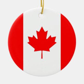 Ornamento con la bandera de Canadá Ornatos