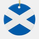 Ornamento con la bandera de Escocia Ornamentos De Reyes