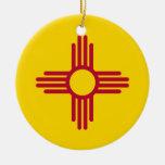 Ornamento con la bandera de New México Adorno