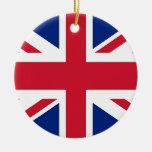 Ornamento con la bandera de Reino Unido Ornamento De Reyes Magos