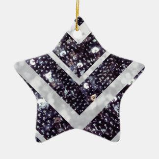 Ornamento con lentejuelas del árbol de navidad ornamento de navidad