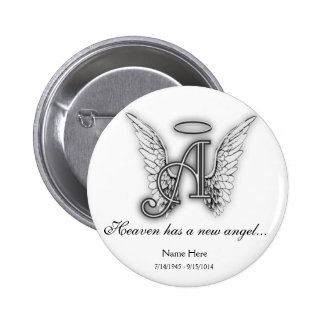 Ornamento conmemorativo A del tributo del Pin Redondo De 2 Pulgadas