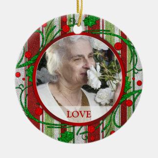 Ornamento conmemorativo del navidad de la foto - b ornamente de reyes