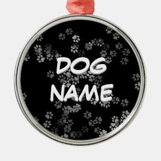 Ornamento conocido del perro adorno de navidad