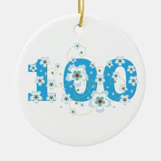 ornamento conocido personalizado 100o cumpleaños d ornamentos de reyes magos