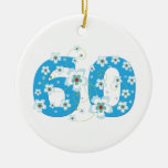 ornamento conocido personalizado 60.o cumpleaños d ornamento de reyes magos