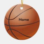 Ornamento conocido personalizado del navidad del b adorno