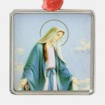 Ornamento creciente de la luna del Virgen María Ornamento De Reyes Magos