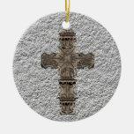 Ornamento cruzado decorativo ornamentos de reyes magos