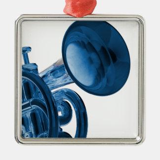 Ornamento cuadrado de la trompeta ornato