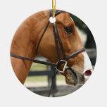 Ornamento cuarto dulce del caballo adornos de navidad