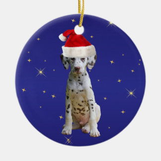 Ornamento dálmata del día de fiesta del navidad ornamente de reyes