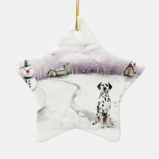 Ornamento dálmata del navidad adorno para reyes