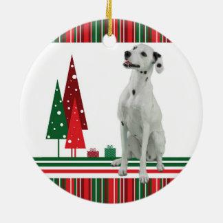 Ornamento dálmata del navidad ornamento de navidad