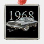 Ornamento de 1968 de Dodge navidad del cargador R/ Adorno De Reyes