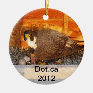 Ornamento de 2012 Dot.ca Ornamentos De Navidad