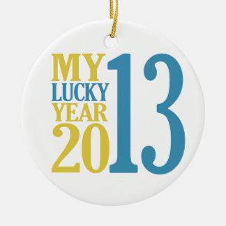 ornamento de 2013 personalizados ornamento para arbol de navidad