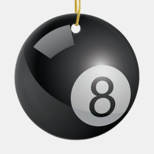 Ornamento de 8 bolas adornos