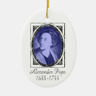 Ornamento de Alexander Pope Ornamentos De Reyes Magos