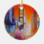 Ornamento de América del Times Square Ornamentos De Reyes Magos