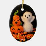 Ornamento de Amigurumi Halloween Ornamentos De Reyes Magos