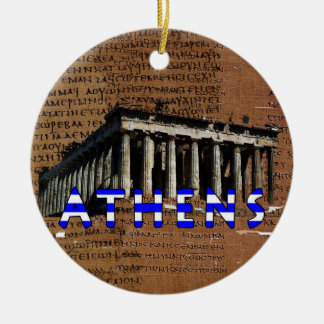Ornamento de Atenas Ornaments Para Arbol De Navidad