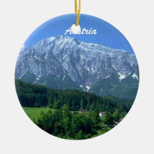 Ornamento de Austria Ornamento Para Arbol De Navidad