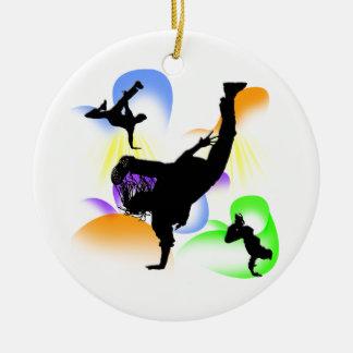 Ornamento de B-Boying Ornamentos Para Reyes Magos