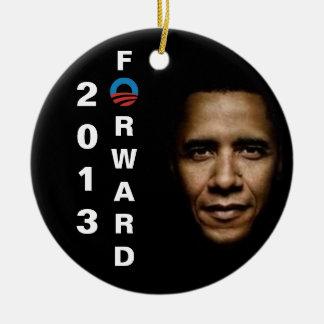 Ornamento de Barack Obama 2013 Adornos