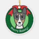 Ornamento de Basenji Adornos De Navidad