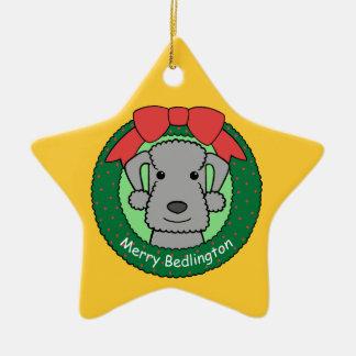 Ornamento de Bedlington Terrier Adorno De Navidad