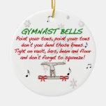 Ornamento de Belces del gimnasta Ornamento Para Arbol De Navidad