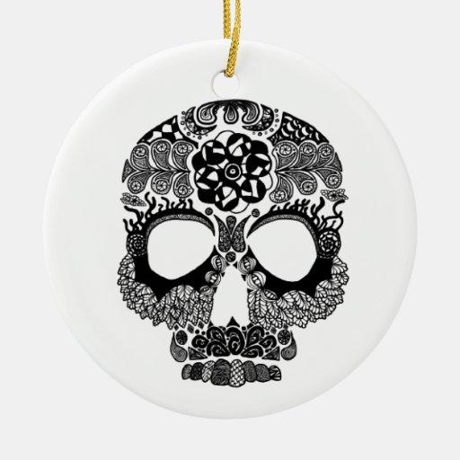 Ornamento de Bella Muerte del La Ornamento De Navidad