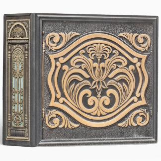 Ornamento de bronce - carpeta