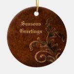 Ornamento de bronce del navidad del día de fiesta  ornamente de reyes