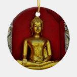 Ornamento de Buda del oro Adorno Para Reyes