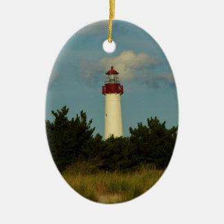 Ornamento de Cape May Lighhtouse Adornos De Navidad