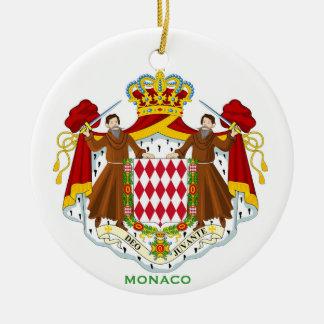Ornamento de cerámica de MONACO* Ornamentos Para Reyes Magos