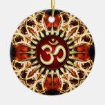 Ornamento de cerámica del alcohol de la energía de ornaments para arbol de navidad
