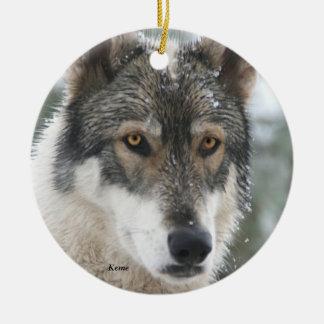 Ornamento de cerámica del árbol de navidad del lob adornos de navidad