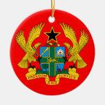 Ornamento de cerámica del navidad de GHANA* Ornamentos De Navidad