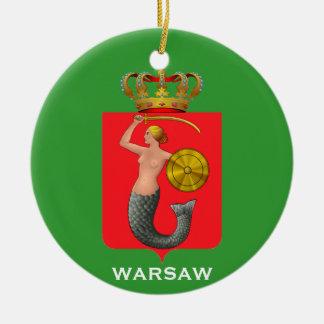 Ornamento de cerámica del navidad de POLAND* Adornos