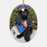 Ornamento de cerámica personalizado de ese Mome es Ornamentos De Reyes