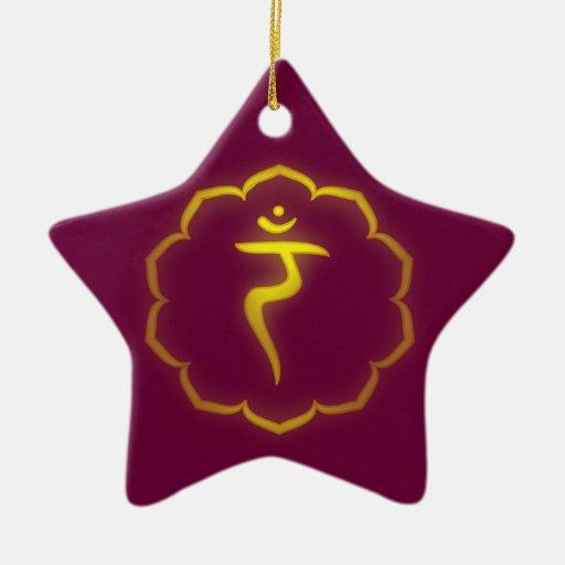Ornamento de Chakra del plexo solar Ornamentos De Reyes