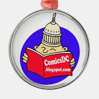 Ornamento de ComicsDC Adorno Navideño Redondo De Metal