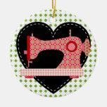 Ornamento de costura - SRF Ornamento Para Arbol De Navidad