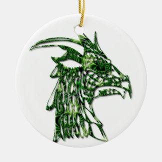 Ornamento de cuernos del dragón ornamentos de reyes magos